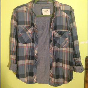 Abercrombie women's XS flannel